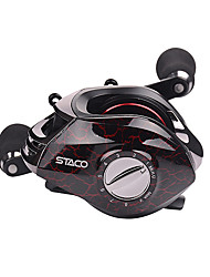 cheap -Fishing Reel Baitcasting Reel 6.31 Gear Ratio+14 Ball Bearings Right-handed / Left-handed Sea Fishing / Bait Casting / Ice Fishing - STACO 200 / Fibre Glass / Spinning / Jigging Fishing