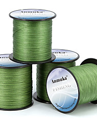 cheap -PE Braided Line / Dyneema / Superline Fishing Line 300M / 330 Yards PE 80LB 70LB 60LB 0.1-0.5 mm Jigging Sea Fishing Fly Fishing / Bait Casting / Ice Fishing / Spinning / Jigging Fishing