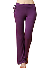 cheap -Women's Running Pants Track Pants Sports Pants Athletic Pants / Trousers Athleisure Wear Modal Elastane Sport Yoga Running Exercise & Fitness Breathable Comfortable Purple Solid Colored Sports