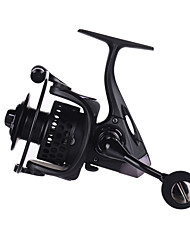 cheap -Fishing Reel Spinning Reel 5.2:1 Gear Ratio+14 Ball Bearings Hand Orientation Exchangable Sea Fishing Bait Casting Spinning Freshwater