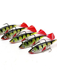 cheap -5 pcs Vibration / VIB Fishing Lures Shad Sinking Bass Trout Pike Bait Casting Lure Fishing Silicon