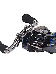 cheap -Fishing Reel Baitcasting Reel 6.31 Gear Ratio+14 Ball Bearings Right-handed / Left-handed Sea Fishing / Bait Casting / Ice Fishing - STACO 200 / Fibre Glass / Spinning / Jigging Fishing