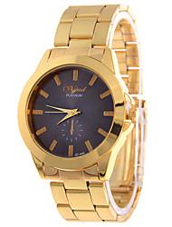 cheap -Women's Fashion Watch Quartz Alloy Band Casual Gold