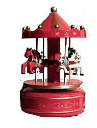 cheap -Music Box Wood Kid's Women's Toy Gift