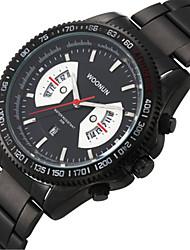 Недорогие -Муж. Спортивные часы Модные часы Кварцевый Черный 30 m Аналоговый Белый Черный