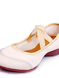 cheap -Women's Dance Shoes Canvas Modern Shoes Sneaker Low Heel Non Customizable White / Black / Red