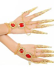 cheap -Belly Dance Dance Glove Women's Performance Metal Bracelets