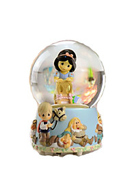 cheap -Music Box Toys Sphere Cylindrical Resin Glass Pieces Unisex Gift