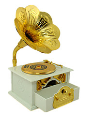 cheap -Music Box Musical Jewellery Box Vintage Phonograph Unique Plastic Metal Women's Unisex Girls' Kid's Adults Graduation Gifts Toy Gift