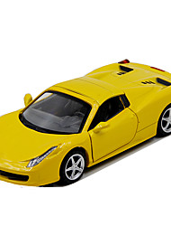 cheap -ALLOY METAL Toy Car Model Car Race Car Car Simulation Music & Light Unisex Boys' Toy Gift / Metal