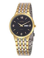 cheap -Men's Fashion Watch Quartz Silver / Gold Analog Black Silver Light Blonde