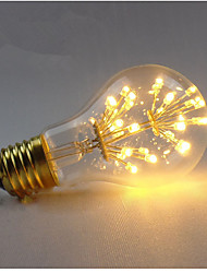 cheap -1pc 3 W LED Filament Bulbs 200-300 lm E26 / E27 A60(A19) 30 LED Beads SMD Decorative Starry Warm White 85-265 V / 1 pc / RoHS / CE Certified