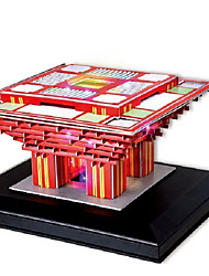 cheap -3D Puzzle Chinese Architecture Fun Paper 1 pcs Classic Kid's Toy Gift