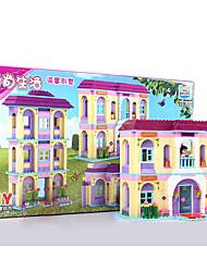 abordables -Blocs de Construction Jeux d'Empilage Jeu de construction Jouets 1 pcs Maison compatible Legoing Garçon Fille Jouet Cadeau / Jouet Educatif