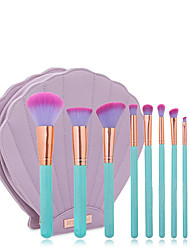 cheap -Professional Makeup Brushes Makeup Brush Set 10pcs Travel Eco-friendly Professional Synthetic Hair / Artificial Fibre Brush Wooden / Alloy Makeup Brushes for Eyeliner Brush Blush Brush Foundation