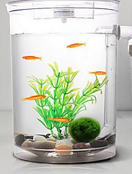 cheap -Fish Tank Aquarium Decoration Ornament Transparent Adjustable Energy Saving Noiseless Plastic 1 pc