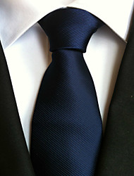 cheap -Men's Work / Casual / Stripes Necktie - Striped