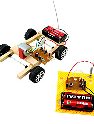 cheap -Remote Control RC Building Block Kit Toy Car Race Car Remote Control / RC DIY Electric Kid's Boys' Girls' Toy Gift