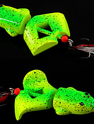 cheap -2 pcs Others Fishing Lures Fishing Tools Frog Sinking Bass Trout Pike Bait Casting Plastic