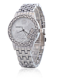 cheap -Women's Fashion Watch Quartz Silver / Gold / Rose Gold Analog Gold Silver Rose Gold