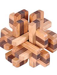 abordables -Puzzle Puzzles en bois IQ Casse-Tête Test de QI En bois Unisexe Garçon Fille Jouet Cadeau