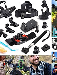 cheap -Sports Action Camera Handlebar Mount Tripod Multi-function Foldable Adjustable 1 pcs For Action Camera Gopro 6 All Gopro Gopro 5 Xiaomi Camera Gopro 4 Diving Surfing Ski / Snowboard Synthetic Cotton
