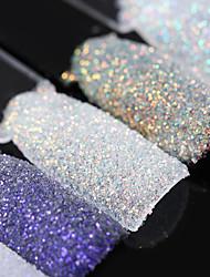 cheap -magic shell nail glitter 1 5g shining ultra thin powder manicure nail art dust decoration