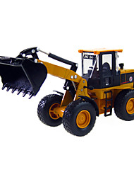 cheap -1:60 Rubber ABS Truck Construction Truck Set Fire Engine Vehicle Excavator Wheel Loader Toy Truck Construction Vehicle Toy Car Truck Forklift Excavating Machinery Boys' Girls' Kid's Car Toys