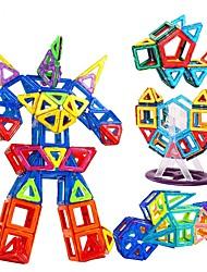 Недорогие -Магнитный конструктор Магнитные плитки Конструкторы 168 pcs Автомобиль Робот Строительная техника совместимый Legoing Подарок Магнитный Мальчики Девочки Игрушки Подарок