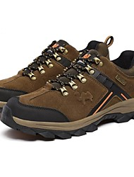 cheap -Men's Sneakers Casual Shoes Mountaineer Shoes Breathable Anti-Slip Cushioning Comfortable Running Camping / Hiking Hiking Spring Summer Fall Brown Army Green / Climbing / Hiking Boots