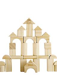 Недорогие -Конструкторы Игры с блоками Обучающая игрушка 1 Квадратный Круглый Цилиндрическая Треугольник Детские Подарок