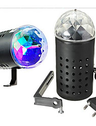 cheap -LED Stage Light Magic LED Light Ball Party Disco Club DJ Show Lumiere LED Crystal Light Laser Projector 3W - 50/60 - Music-Activated