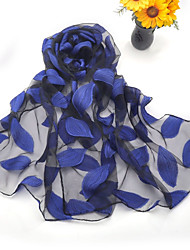 cheap -Women's Party Silk Rectangle Scarf / Cute