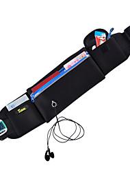 cheap -Running Belt Running Pack 1 L for Running Hiking Cycling / Bike Fitness Sports Bag Multifunctional Waterproof Dust Proof Running Bag