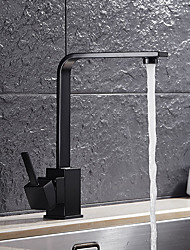 cheap -Kitchen faucet - Single Handle One Hole Oil-rubbed Bronze Standard Spout Vessel Antique Kitchen Taps