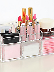 Недорогие -Инструменты для макияжа Хранение косметики Составить 1 pcs Акрил Квадрат Повседневные косметический Товары для ухода за животными