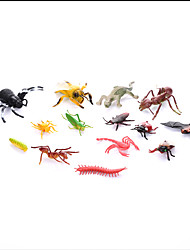 cheap -Dragon & Dinosaur Toy Model Building Kit Triceratops Dinosaur Figure Jurassic Dinosaur Velociraptor Tyrannosaurus Rex Insect Spider Ant Plastic Kid's Party Favors, Science Gift Education Toys for