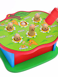 cheap -1 pcs Gopher Game Whac-a-mole Wood Fun Parent-Child Interaction Kid's Toys Gifts