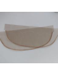 cheap -2pcs/lot Lace Net Basement Foundation for Making Lace Top Closure Wigs Making 13*4 inch