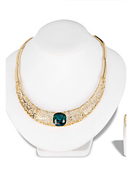 cheap -Women's Jewelry Set - Fashion, Euramerican Include Necklace Gold For Wedding Party Special Occasion Anniversary Birthday Engagement / Gift / Daily / Valentine