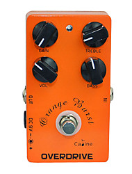 cheap -Caline CP-18 Orange Burst Overdrive Pre AMP Electric Guitar Effect Pedal
