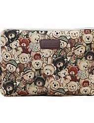"cheap -11.6"" 13.3"" 14"" 15.6"" Canvas Animal Sleeves Laptop Bags for Macbook/Surface/HP/Dell/Samsung/Sony Etc"