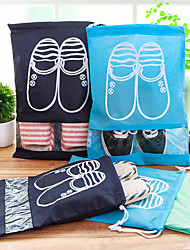 cheap -1pc Travel Organizer Shoes Bag Travel Shoe Bag Large Capacity Quick Dry Ultra Light (UL) Dust Proof Travel Fabric Gift For / / Durable