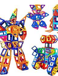 Недорогие -Магнитный конструктор Магнитные плитки Конструкторы 228 pcs Робот Игрушка STEAM совместимый Legoing Магнитный Мальчики Девочки Игрушки Подарок