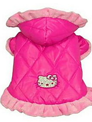 cheap -Dog Jumpsuit Dog Clothes Cartoon Plush Fabric Costume For Winter Women's