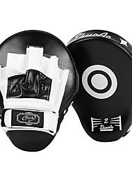 Недорогие -Бокс и боевых искусств Pad Боксерские перчатки Назначение Тхэквондо ММА Кикбоксинг UFC профессиональный уровень Скорость Прочный PU 1 pcs Черный Красный