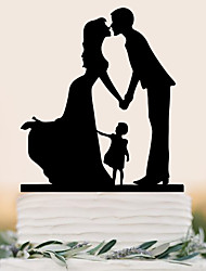 cheap -Cake Topper Beach Theme Garden Theme Butterfly Theme Holiday Classic Theme Fairytale Theme Baby Shower Rustic Theme Vintage Theme
