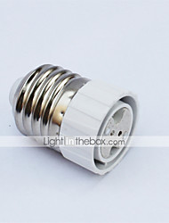 cheap -E27 To MR16 Light Bulb Socket Ceramic&Aluminum Convertible Lamp Base