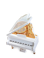 cheap -Music Box Music Jewelry box Piano Unique Plastic Women's Girls' Kid's Adults Graduation Gifts Toy Gift