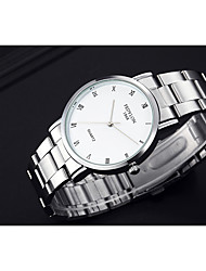 cheap -Men's Fashion Watch Quartz White 30 m / Analog Casual - White Black